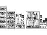 最新整理的商住楼及车库采暖通风CAD设计图图片1