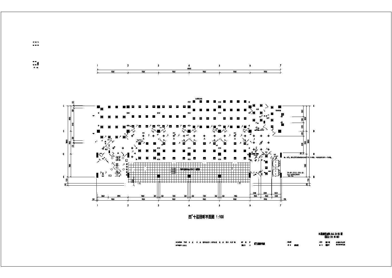 某综合楼电气照明防雷接地平面图(共10张图)图片3