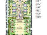 东台市某广场平面图及鸟瞰图图片1