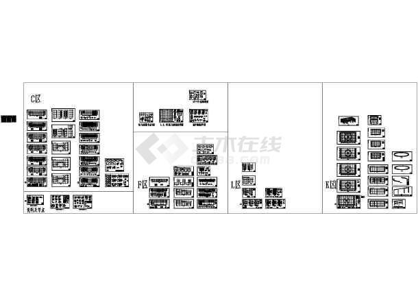 [施工图][昆明]钢框架办公大楼结构设计施工图-图一