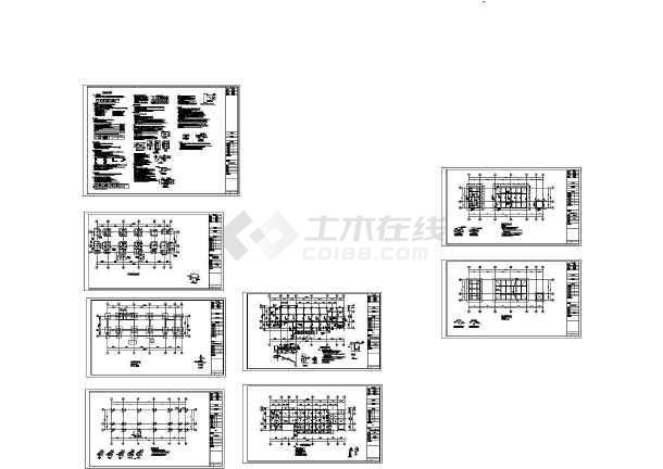 [湖南]污水提升泵站厂房工程平法施工图(资料目录,设计总说明)-图一