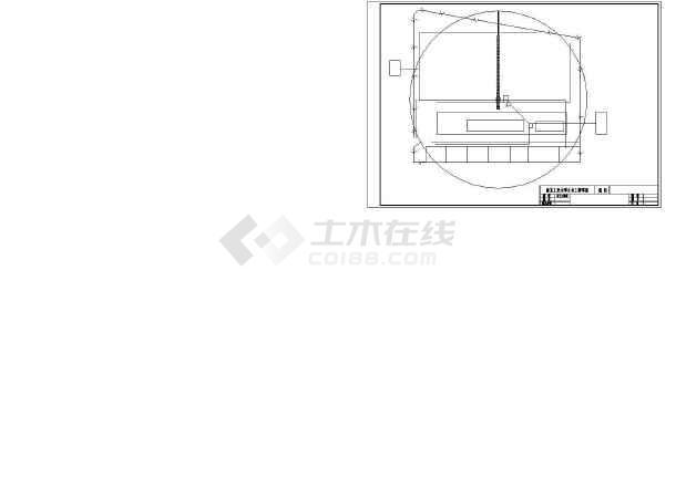 1236平方米局部五层教堂施工组织设计及工程量清单报价(含10张CAD图、施工总平图)-图二