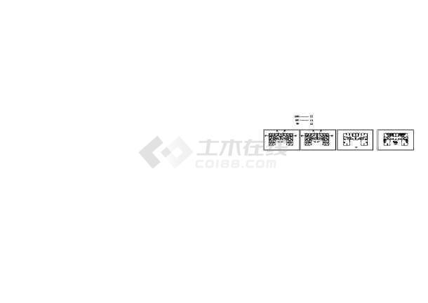 [四川]地标性商业综合建筑暖通空调及通风88必发手机版登录CAD施工图-图一
