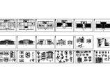 4193平米局部地4层培训贸易中心的主体建筑施工图图片1
