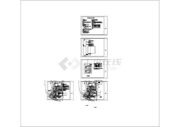 荷花院小学室外提升工程--电气设计施工图-图一