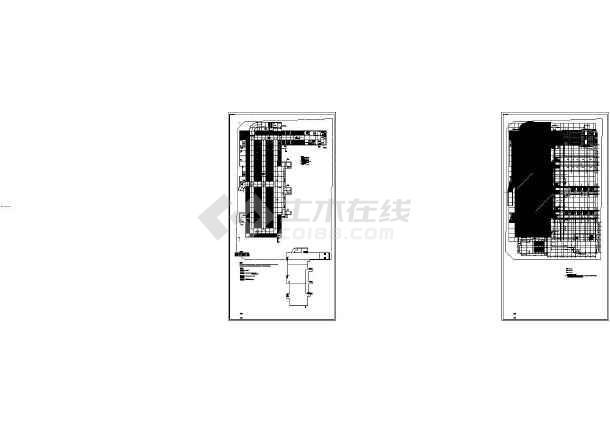 曹寅镇烛花实验中学新建工程地下室--电气设计施工图-图一