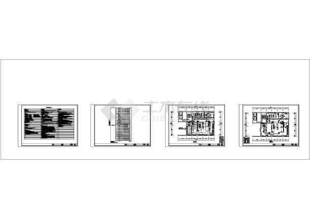 某14939.97平方米服务中心装修项目电气设计图-图一