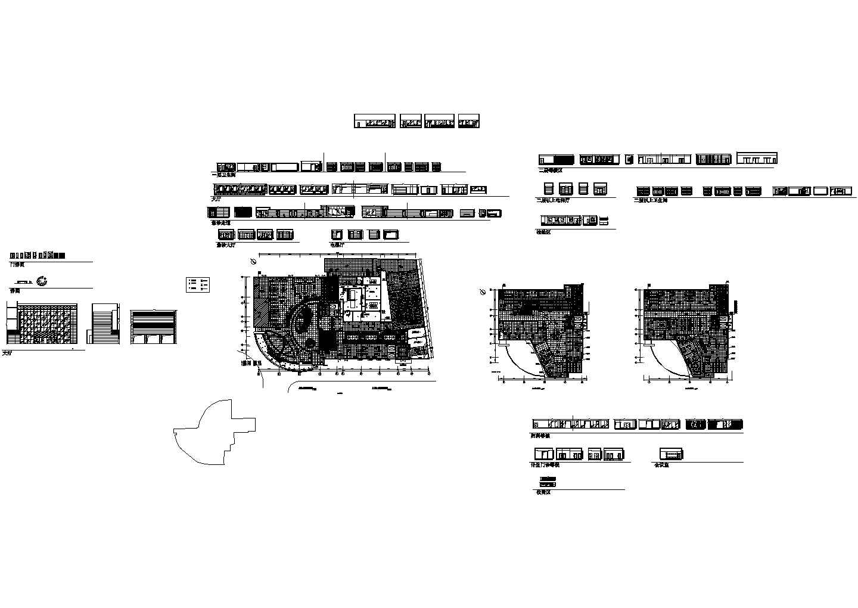 深圳港龙医院装修设计施工图纸图片1