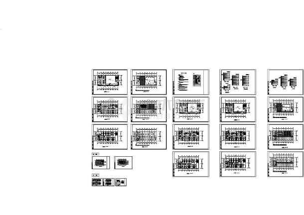 某综合楼建筑电气施工设计图-图一