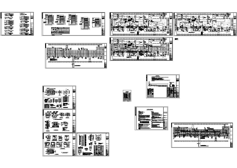 地下车库消防报警设计CAD图纸图片1