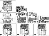 三层宿舍楼施工图cad图,共十四张图片1