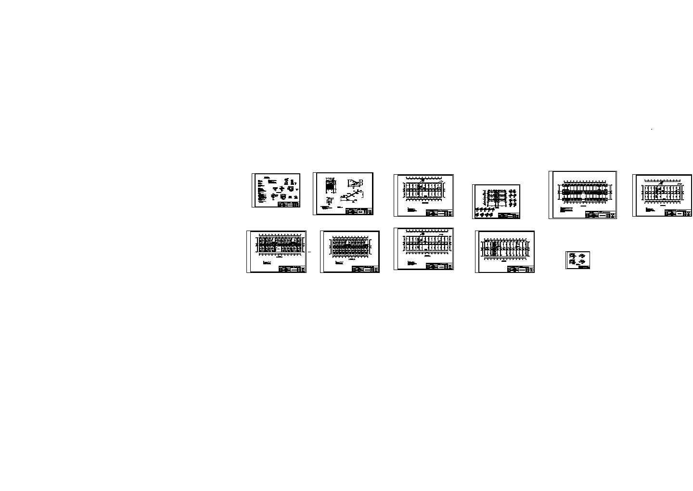 某4300平五层农业局办公楼建筑结构毕业设计图纸(含计算书)图片1