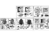 文昌阁古建筑施工设计CAD图图片1