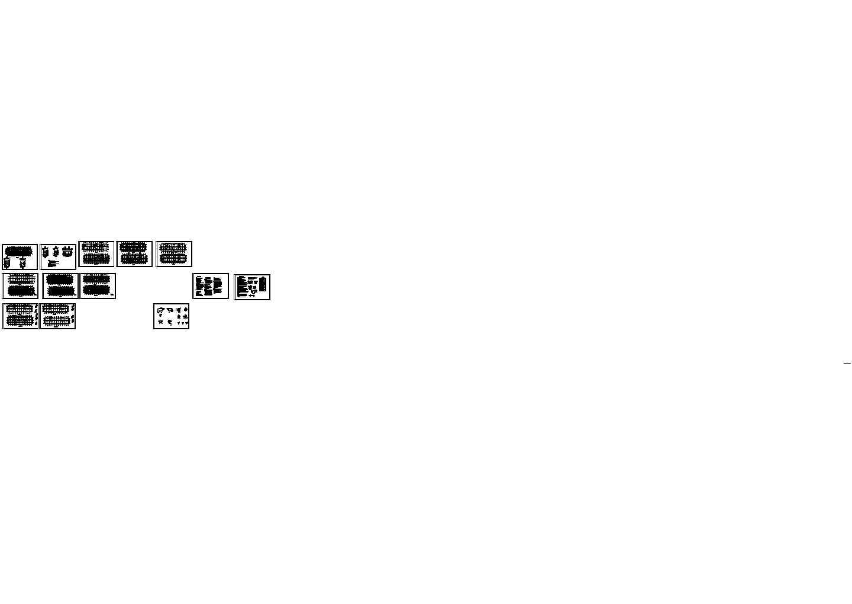 某4118m2五层框架结构住宅楼建筑结构毕业设计图纸(含计算书)图片1