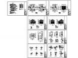 某379平方米三层新农村独栋别墅建筑结构水电图纸图片1