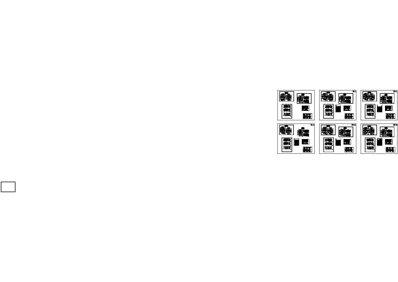 某两层别墅平立剖、总平面定位竖向图等施工图集图片1