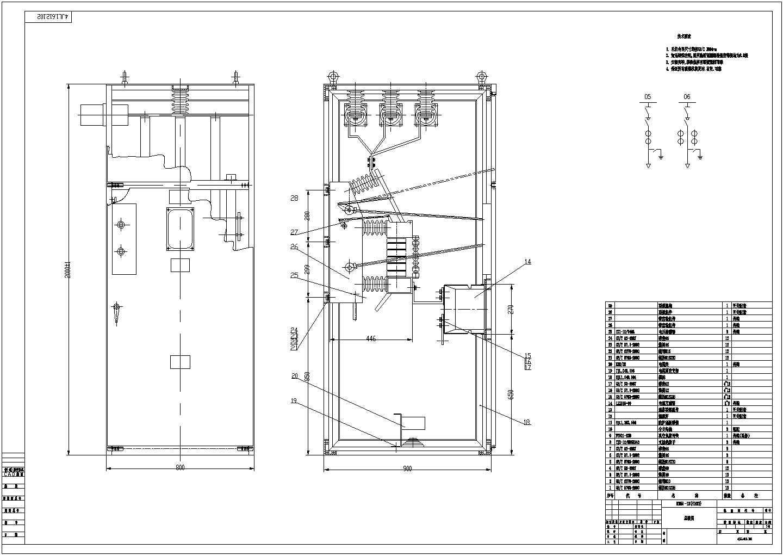 某设备控制总装设计CAD图图片1