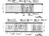某地地中海风格客厅CAD立面图图片1