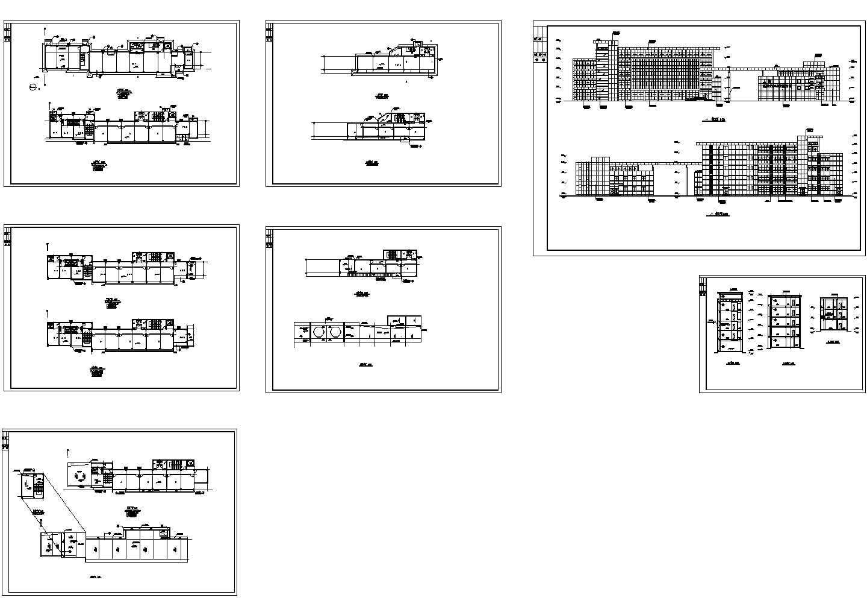 某四层新建厂房建筑施工图(共7张图纸)图片1