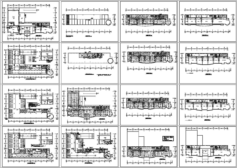 某六层办公楼电气设计方案CAD图纸图片1