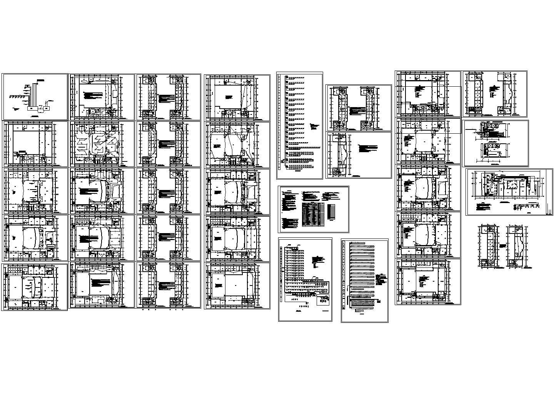 会堂消防全套-消防平面图纸设计图片1