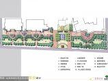 [西安]某道路绿化带及商业街景观设计方案图片1
