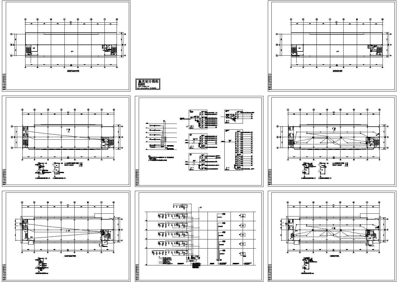 某五层工业厂房电气施工图纸图片1
