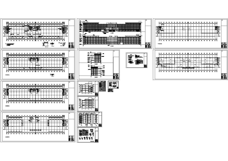 19142平方米工业园区厂房建筑施工图,含设计说明图片1