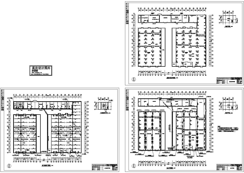 某厂房电气施工图全套图纸图片1