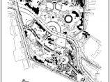 某公园景观植物配置cad图图片1