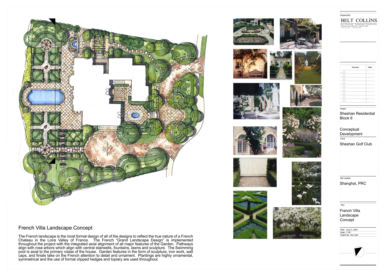 [上海]高尔夫地块别墅景观设计方案(11张)图片1