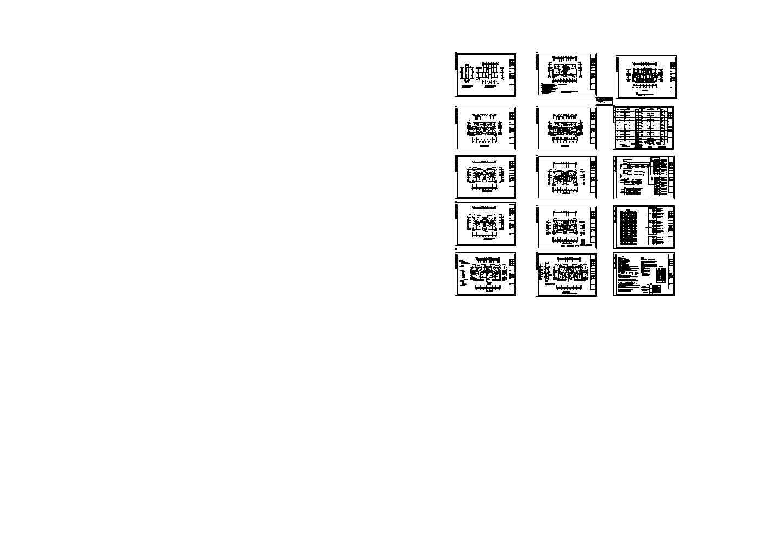 某二十一层弱电照明系统设计图图片1