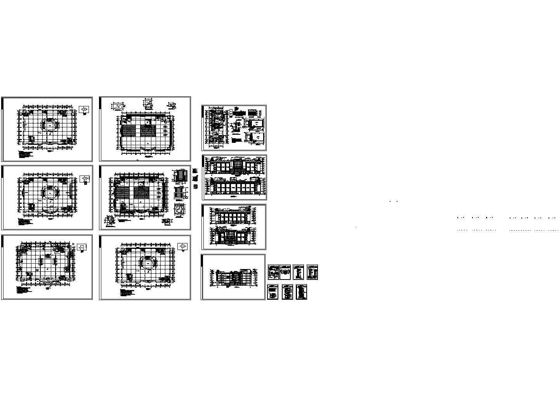 某商场设计建筑全套图图片1