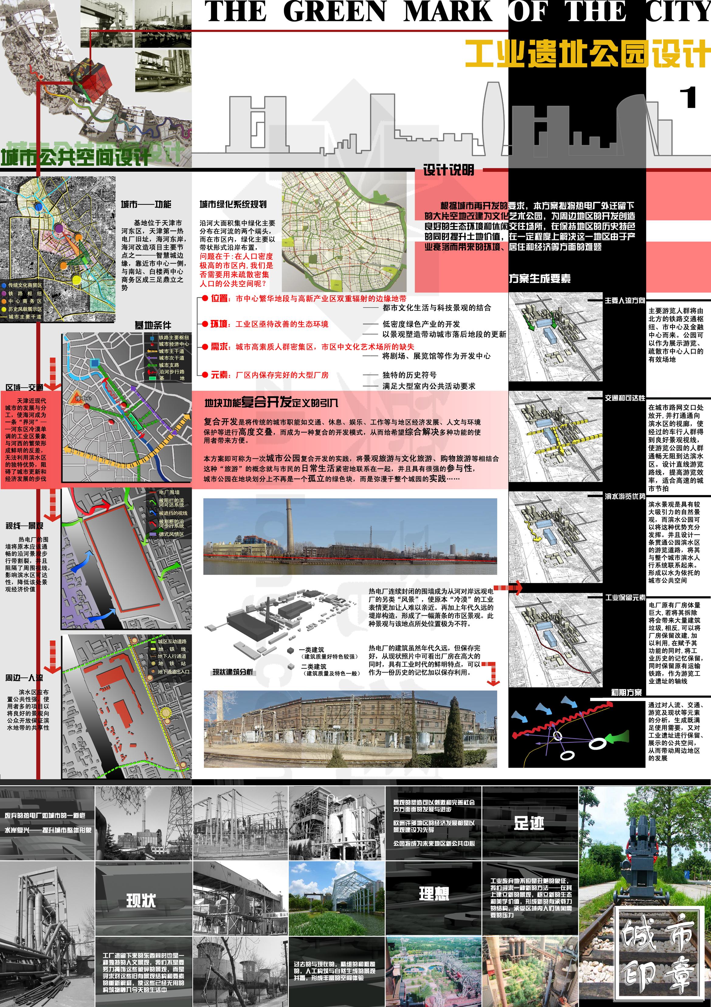 工业遗址公园景观设计方案文本图片1