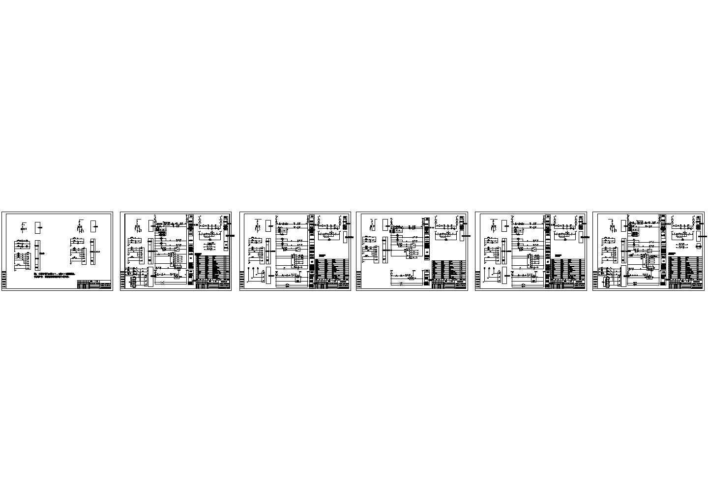 某综合实验楼变电所设备控制设计图图片1