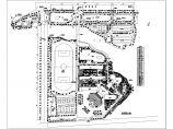 某市学校景观方案设计CAD规划图图片1