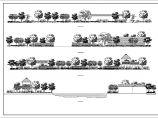 某园林详细设计CAD立面图图片1