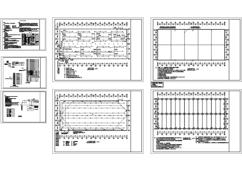 某3477�O单层厂房电气施工图纸图片1