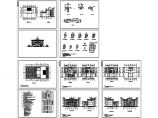 某地上四层别墅建筑施工图纸(含建筑设计说明)图片1