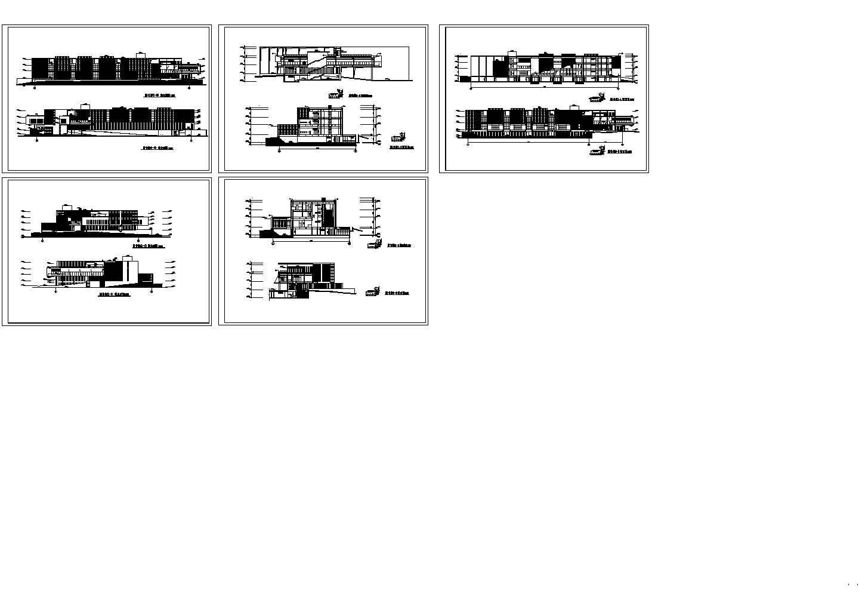 经典的建筑立面图,共五张图片1