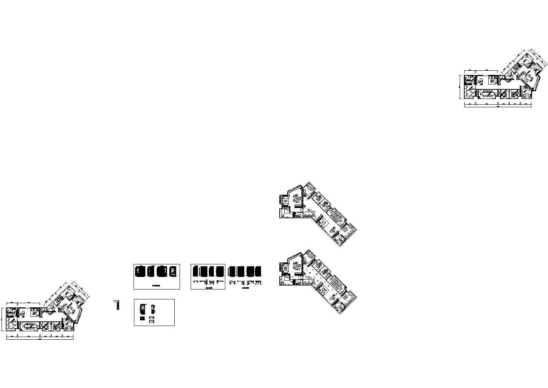 融海投资办公间公共卫生间大样建筑设计cad图纸图片1