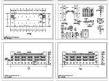 某三层办公宿舍楼建筑施工图图片1