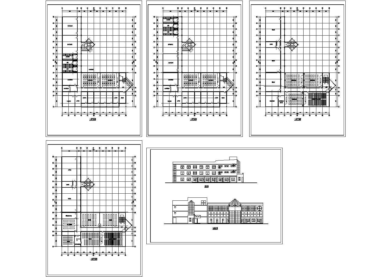 常州某学校教学楼施工图图片1