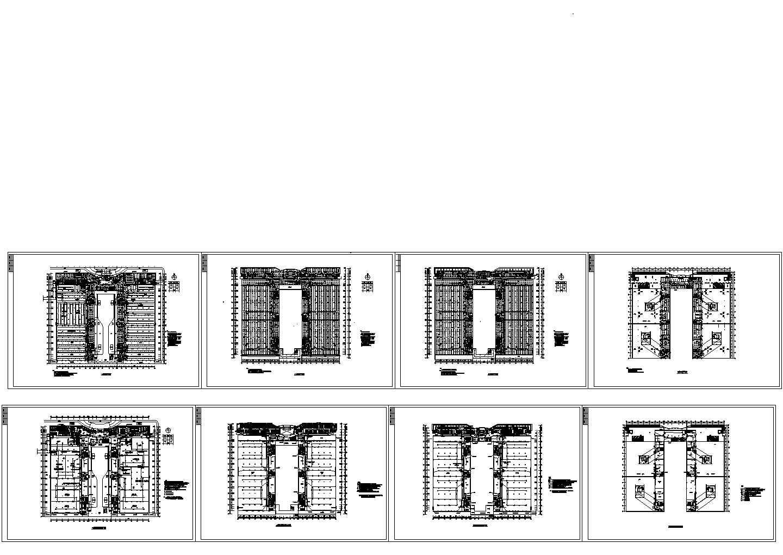 四层厂房电气施工图纸图片1