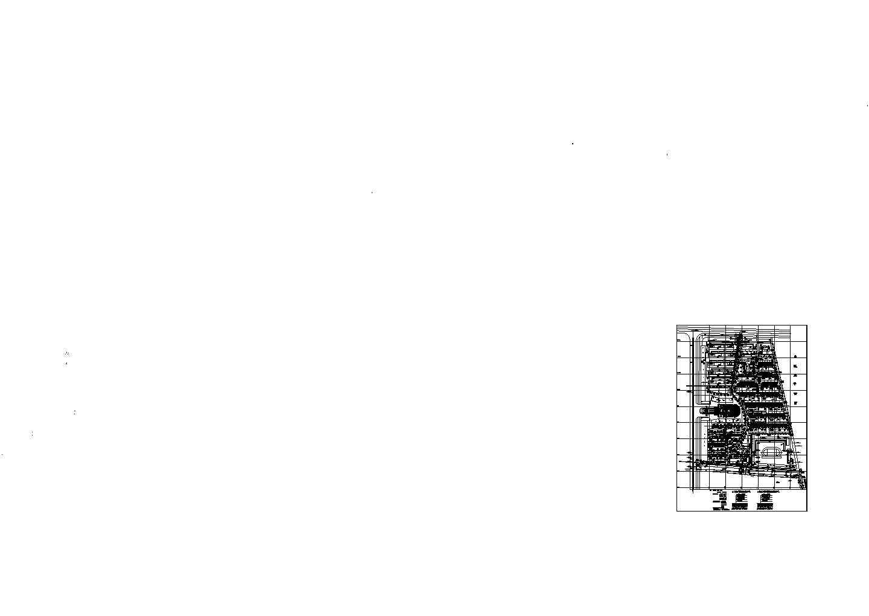 某小区总平面规划图和道路路面做法图图片1
