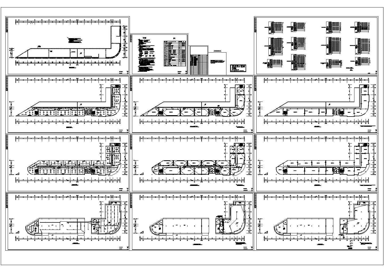 某多层办公楼电气设计图图片1