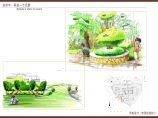 小区局部组团绿地景观设计方案图片1