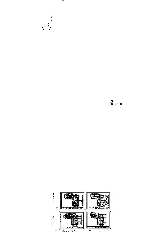 国际广场平面图设计cad图纸图片1