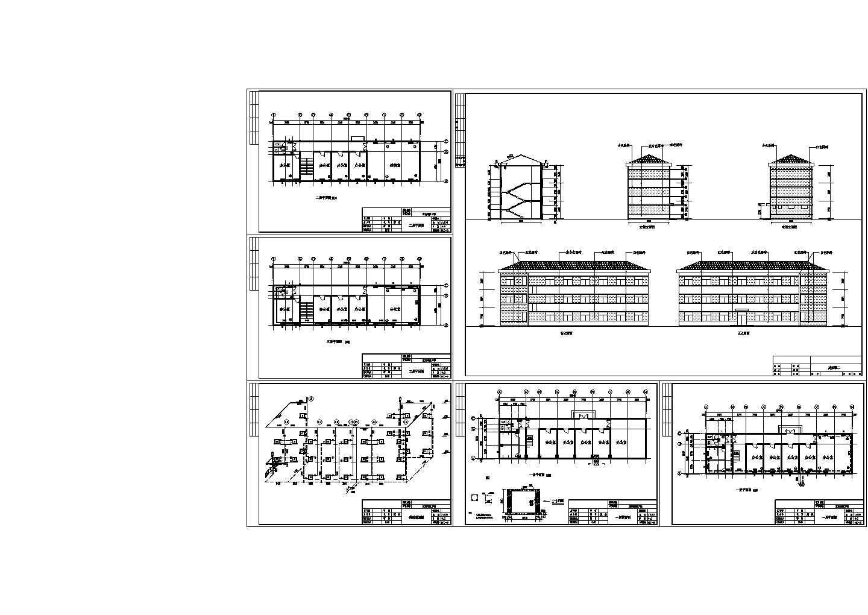 某地区三层办公楼建筑全套采暖系统图图片1