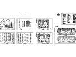 某地长57.14米 宽12.3米 -1+6层普通住宅给排水设计CAD图图片1